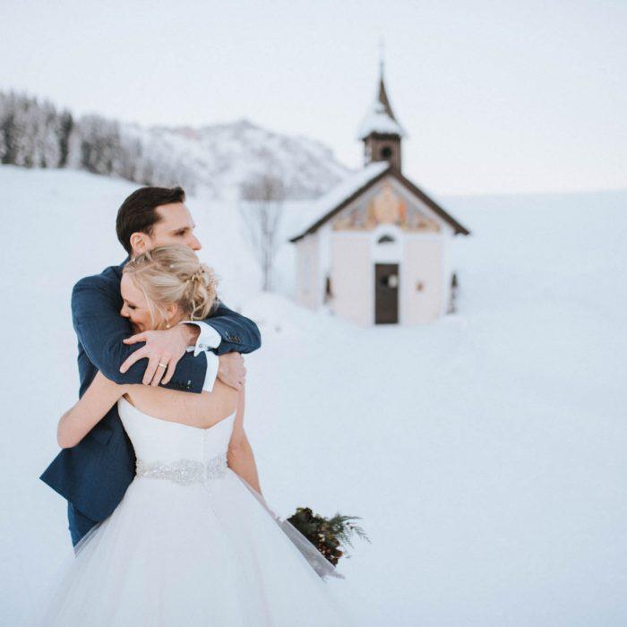 Winterhochzeit in Salzburg